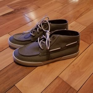 Womens sperry 9 gray shoes loafer